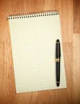 Give me a blank page and I know what to do with it!
