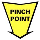 pinch-point-die-cut