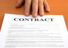 Would you write more with a contract?