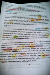 One of the 'edited' pages