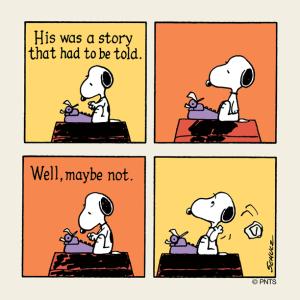 snoopy story