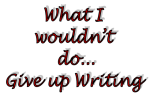 give up writing