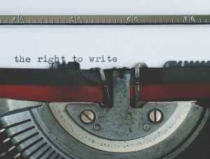 Typewriter: The right to write
